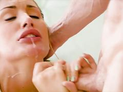 Beautiful august ames takes a sweet unexpected fuck