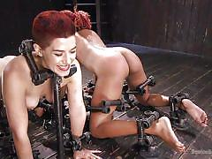 A pair of redhead sex slaves