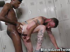 black, interracial, hardcore, facial, handjob, masturbation