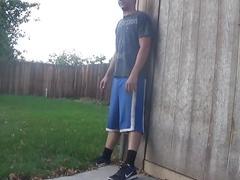 Back yard blowjob -ourdirtylilsecret