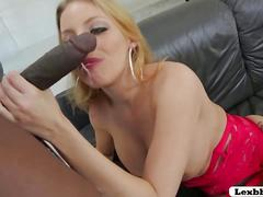 Big tits and busty blonde britney interracial sex