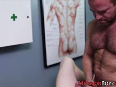 Bishop ass fingers mormon