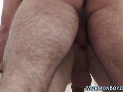 masturbation, bareback, old and young, anal, cumshot