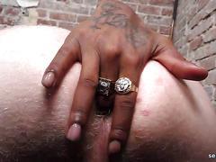masturbation, hunk, twink, blowjob, cumshot, hardcore, interracial, black