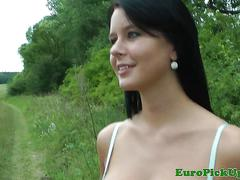 Pulled outdoor euro model nailed for cash