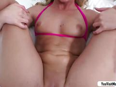 Hot sexy girl abby cross goes on vacation and had her first time anal sex