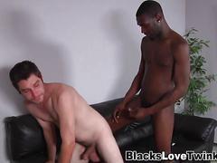 black, interracial, blowjob, cumshot, hardcore, masturbation