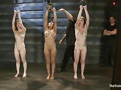 milf, bdsm, babe, group, busty, tattooed, sex slave, slave training, the training of o, kink, sahara rain, melanie lucci, pixie, emii ebi, oliver hyde, kay kardia, beretta james, maestro stefanos