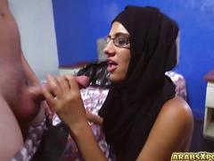 Sexy arab babe in glasses hot hardcore fuck