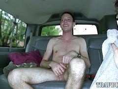 Straight amateur tugged naked