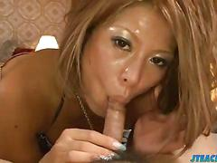 Sweet bedroom adult foreplay with aiki