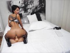 Anisyia livejasmin extreme high heels jumping on huge cock uhd4k