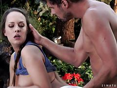 blue angel, brunette, blowjob, riding, cumshot, facial, natural, cowgirl, beauty, passion, spooning, sucking, licking pussy, glamcore