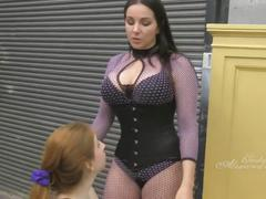 Lesbian spit slave
