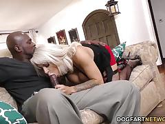 Alyssa lynn takes on this huge dick
