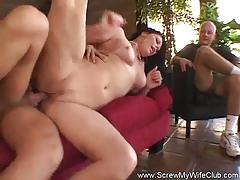 Cuckold fuck with kinky wife