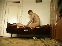 Russian milf gets creampied in homemade 2