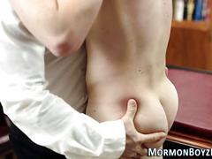 Mormon bishop fucks ass anal