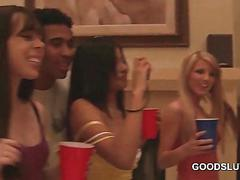 Orgy college girls drink and flash assets