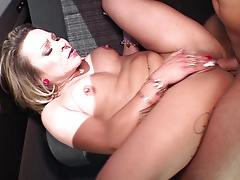 hardcore, outdoor, doggy style, cowgirl, big natural tits