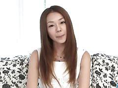 Sakura hirota sucks cock during interview
