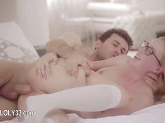 Pornstar enjoy stunning sex times with lover