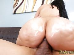 Latinas rack creamed over
