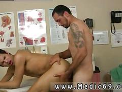 Blasting his ass from the back doggy style with desire
