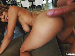 blowjob, riding, doggystyle, interracial, cowgirl, sucking
