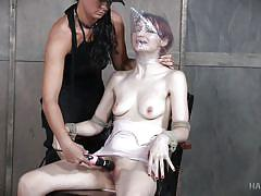 babe, torture, redhead, lesbian bdsm, rope bondage, hard tied, noose, plastic bag suffocation, hard tied, london river, violet monroe