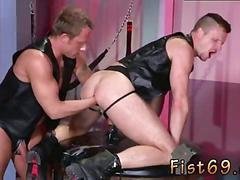 Anal male fisting gay as part of brians therapy the doctor puts them in a dungeon space