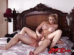 Beauty kagney linn karter fucked hard