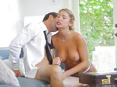 august ames, logan pierce, blowjob, riding, doggystyle, blonde, reverse cowgirl, masturbation, cowgirl, pussy licking, caught, spooning, sucking, masturbate