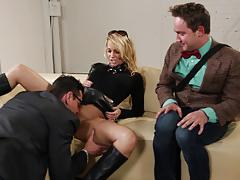 Supergirl pt 2 jessica drake takes two cocks at once