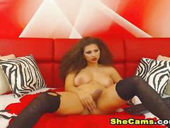 masturbation, webcam, big tits,