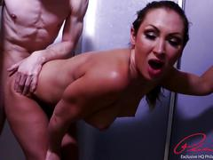 Beautiful aussie milf yasmin scott takes a big cock