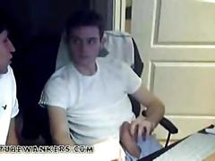Twinks on webcam blowjob
