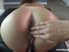 Jill returns to netvideogirls for a creampie, fool you twice shame on...
