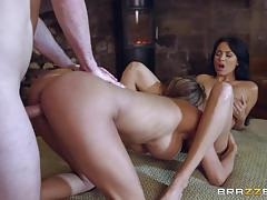 Cum loving hotties anissa kate and peta jensen