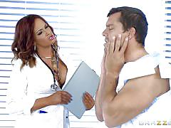 Curvy milf doctor gets all nasty with her patien