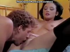Melissa melendez, scott irish in hot brunette in nylon stockings from porn class