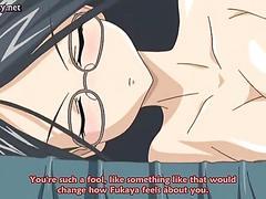 Two amazing anime lesbians sharing