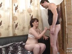 Casting amateur french couple ass fucking the chubby milf