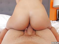 Luna star taking a massive cock in her tight pussy