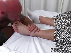 twink, footjob, feet, fetish, toe sucking