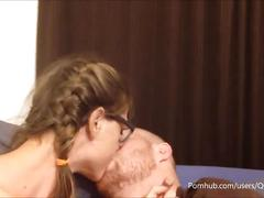 Making out leads to pussy licking orgasm