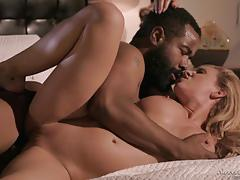 Huge black boner drilling deep into cherie deville