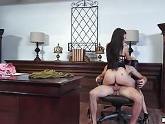 Oral office of lana rhoades pussy fuck action