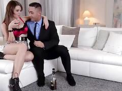 Ddf busty - busty russian mafia princess fucks like a queen