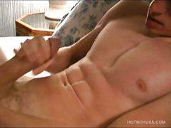 Twink justin slater beats his meat